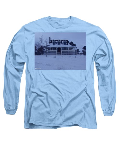 Dahl House Long Sleeve T-Shirt by Gene Gregory