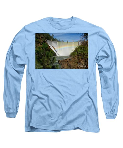 Long Sleeve T-Shirt featuring the photograph Dam Rainbow by Patrick Witz