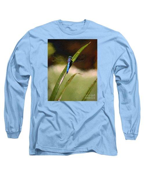 Long Sleeve T-Shirt featuring the photograph Damsel by John  Kolenberg