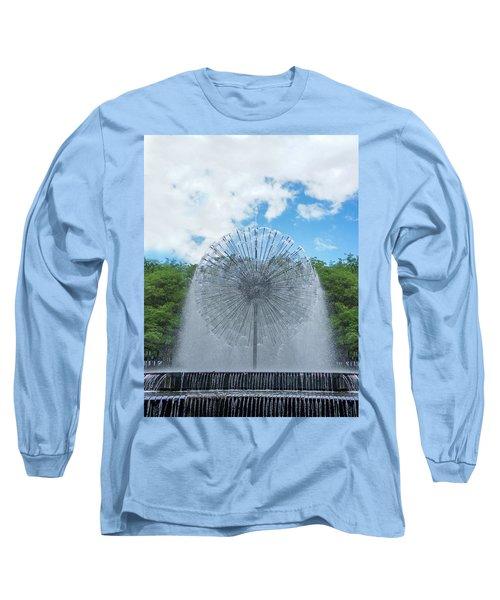 Dandelion Fountain Long Sleeve T-Shirt