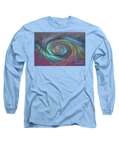 Dark Swirls Long Sleeve T-Shirt