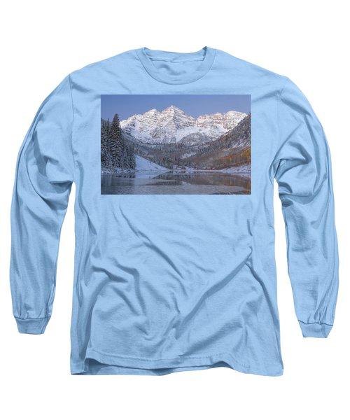 Dawn At Maroon Bells 2 Long Sleeve T-Shirt