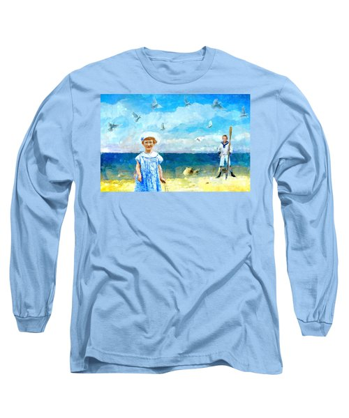 Day At The Shore Long Sleeve T-Shirt by Alexis Rotella