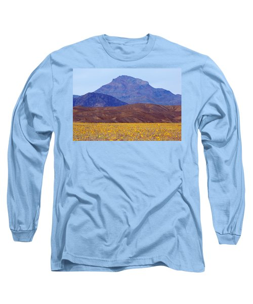Long Sleeve T-Shirt featuring the photograph Death Valley Superbloom 201 by Daniel Woodrum