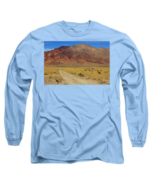 Long Sleeve T-Shirt featuring the photograph Death Valley Superbloom 205 by Daniel Woodrum