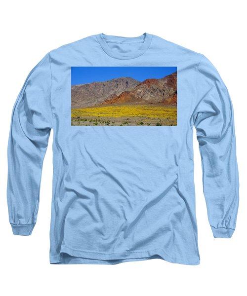Death Valley Superbloom Long Sleeve T-Shirt
