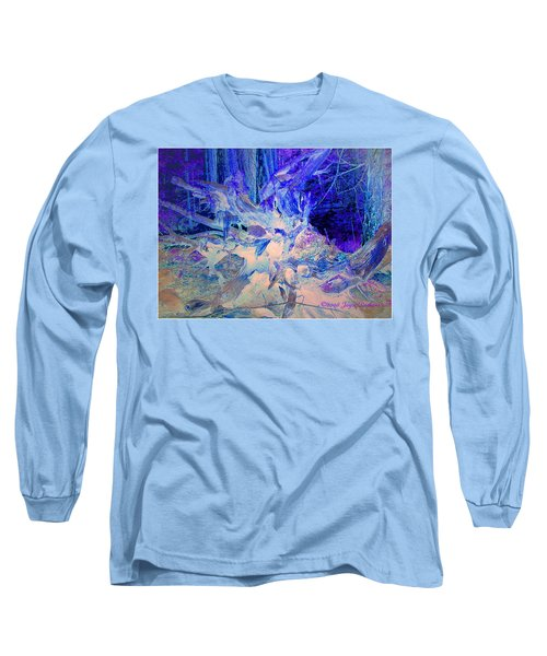 Long Sleeve T-Shirt featuring the photograph Deep In The Forest by Joyce Dickens