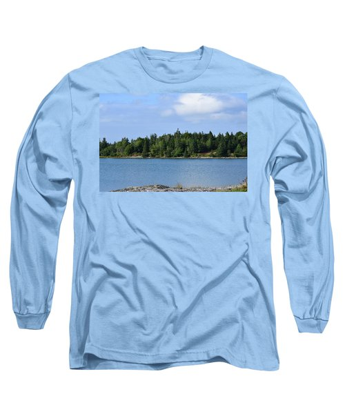 Deer Isle, Maine No. 5 Long Sleeve T-Shirt