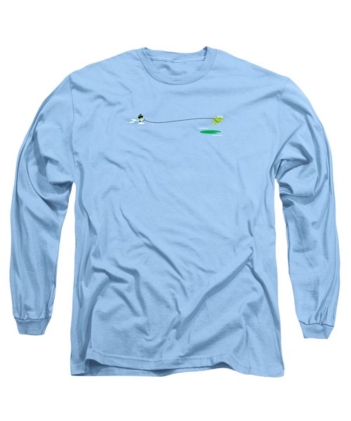 Del Jetski Long Sleeve T-Shirt