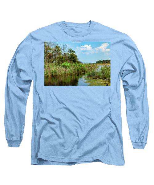 Delaware Wetlands Long Sleeve T-Shirt