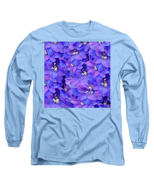 Delphinium Blue Long Sleeve T-Shirt