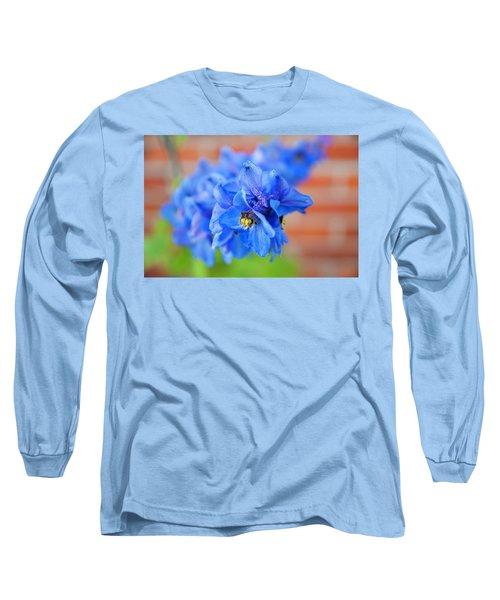 Delphinium Long Sleeve T-Shirt by Tamara Sushko