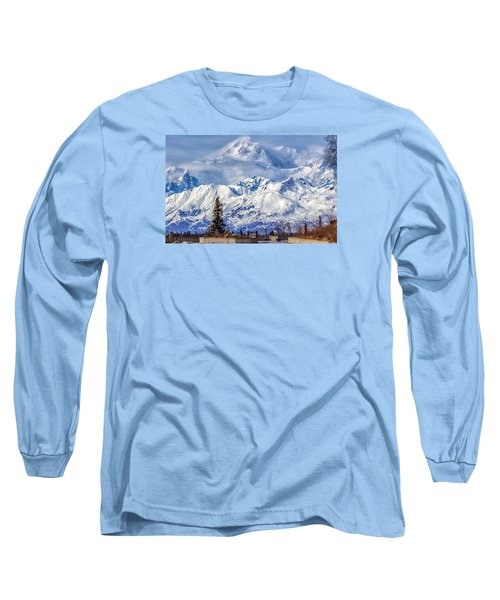 Long Sleeve T-Shirt featuring the photograph Denali by Michael Rogers