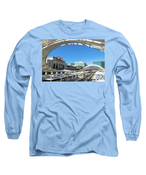 Denver Co Union Station Long Sleeve T-Shirt