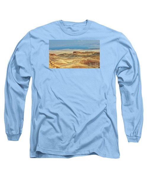 Desert And Dead Sea Long Sleeve T-Shirt