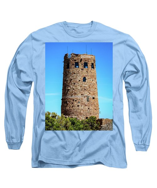 Desert View Watchtower At The Grand Canyon Long Sleeve T-Shirt