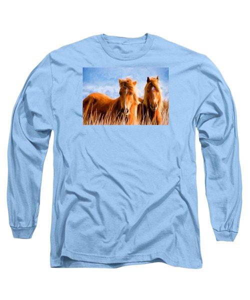 Deuces Wild Long Sleeve T-Shirt