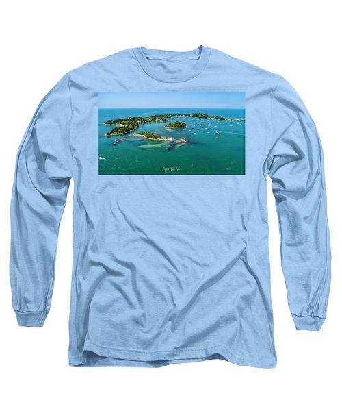 Devils Foot Island Long Sleeve T-Shirt