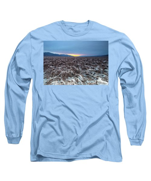 Devil's Golf Course  Long Sleeve T-Shirt by Catherine Lau