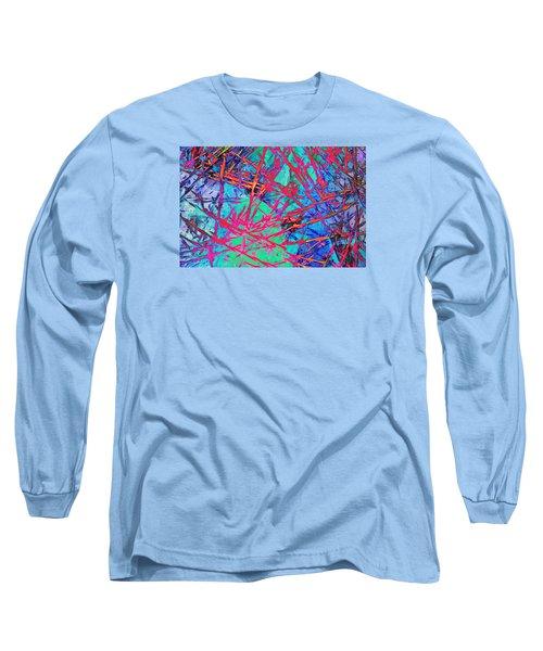 Devil's Rope Long Sleeve T-Shirt by Bob Pardue