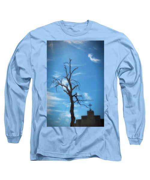 Dia De Los Muertos Long Sleeve T-Shirt by Lynn Geoffroy
