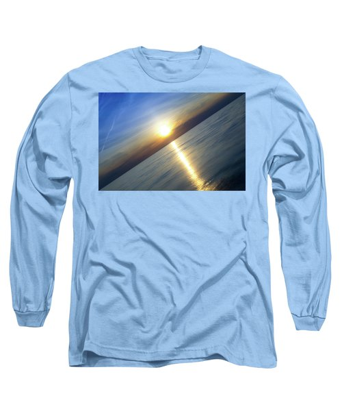 Diagonal Sunset Long Sleeve T-Shirt