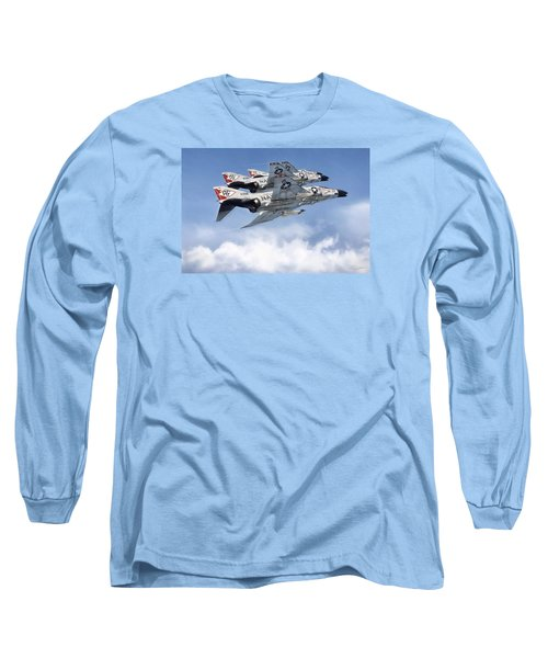 Diamonback Echelon Long Sleeve T-Shirt by Peter Chilelli
