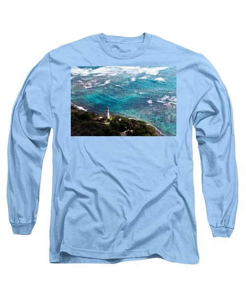 Diamond Head Lighthouse Long Sleeve T-Shirt