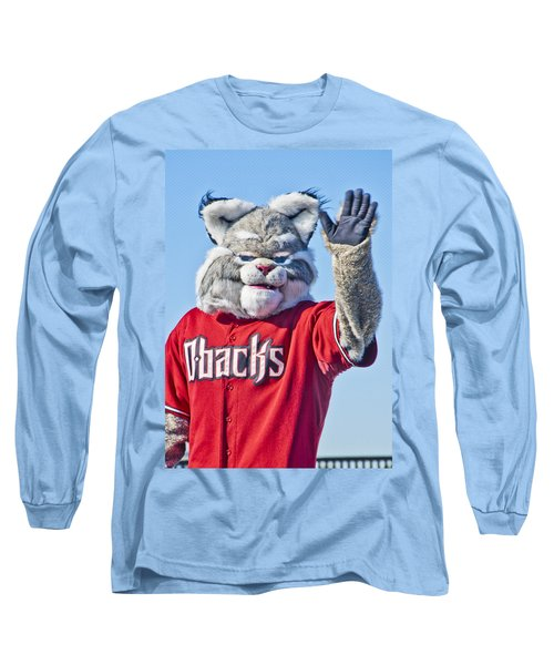 Diamondbacks Mascot Baxter Long Sleeve T-Shirt