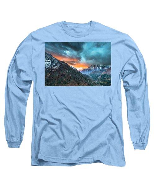 Dingboche Sunrise Long Sleeve T-Shirt