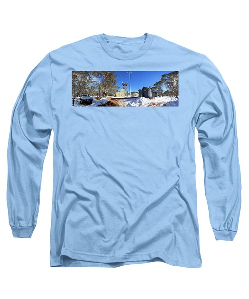 Dinner Plain Cfa Long Sleeve T-Shirt by Bill Robinson