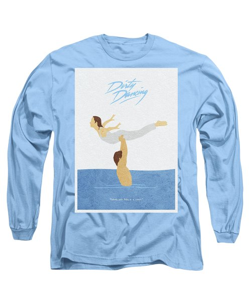Long Sleeve T-Shirt featuring the painting Dirty Dancing by Inspirowl