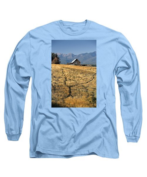 Divergence Long Sleeve T-Shirt by Lawrence Boothby