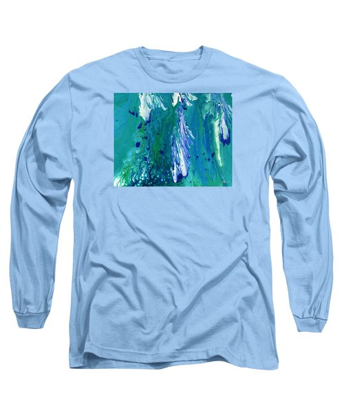 Diving To The Depths Long Sleeve T-Shirt by Lori Kingston