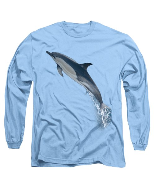 Dolphin Leaping T-shirt Long Sleeve T-Shirt