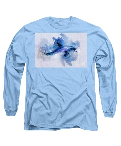 Dolphins Freedom Long Sleeve T-Shirt