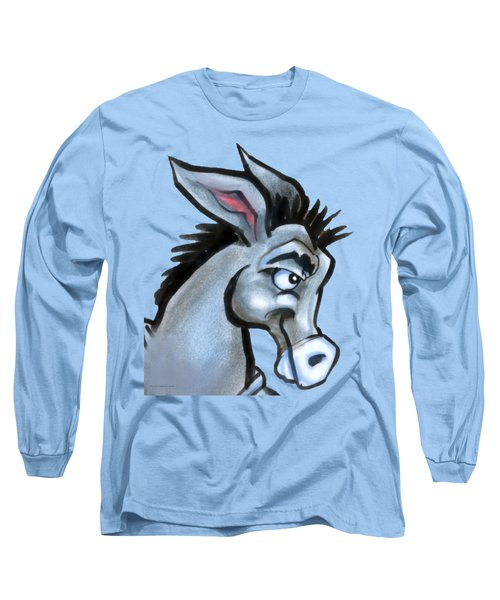 Donkey Long Sleeve T-Shirt by Kevin Middleton