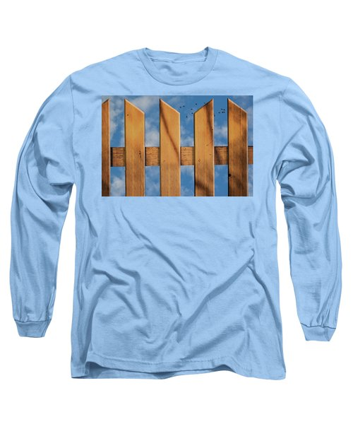 Don't Take A Fence Long Sleeve T-Shirt by Paul Wear