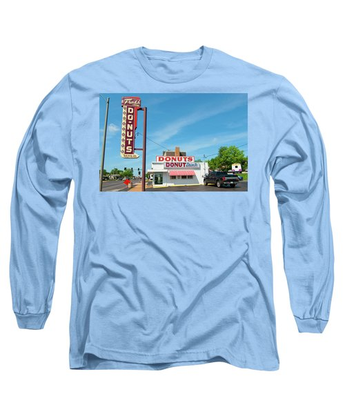 Donut Drive In Long Sleeve T-Shirt