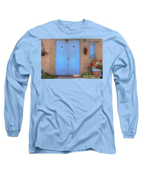 Doors, Peppers And Flowers. Long Sleeve T-Shirt