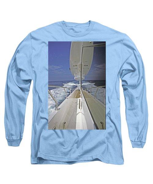 Double Image Long Sleeve T-Shirt