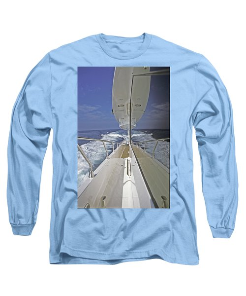 Double Image Long Sleeve T-Shirt