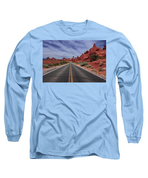 Down The Open Road Long Sleeve T-Shirt