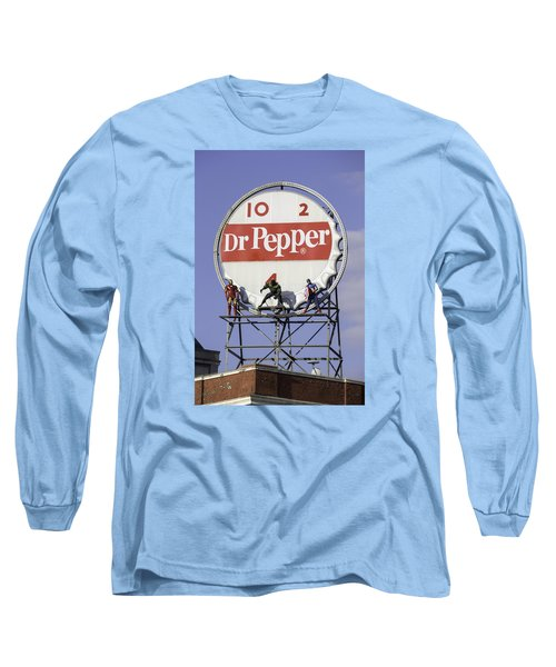 Dr Pepper And The Avengers Long Sleeve T-Shirt