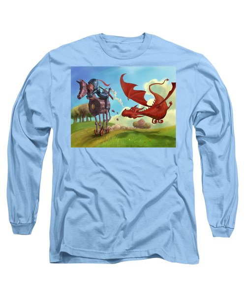 Dragon Chase Long Sleeve T-Shirt