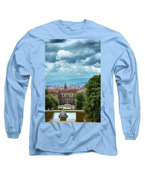 Drama In The Palace Of Firenze Long Sleeve T-Shirt