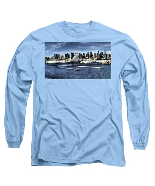 Dramatic New York City Long Sleeve T-Shirt