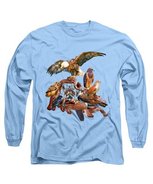 Dream Catcher - Spirit Birds Long Sleeve T-Shirt