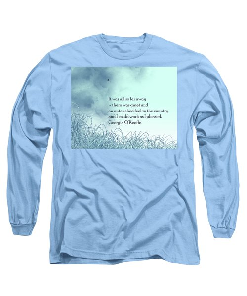 Dream Home Long Sleeve T-Shirt by Trilby Cole