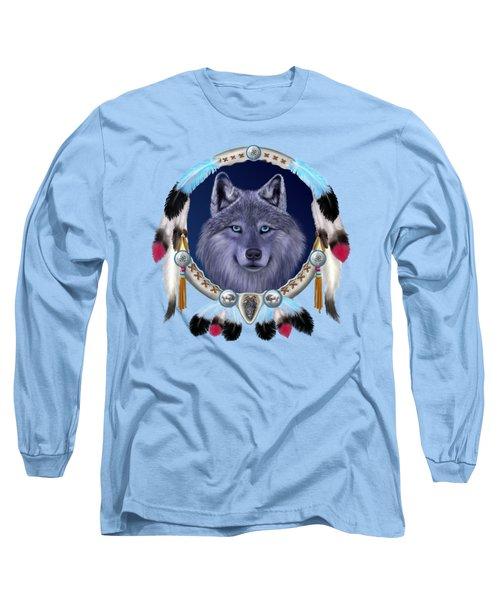 Dream Wolf Long Sleeve T-Shirt